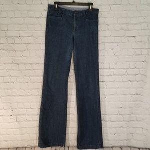 Banana Republic☆Dark Wash Wide Leg Jeans